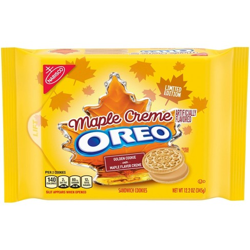 OREO MAPLE CREME COOKIES - LIMITED EDITION