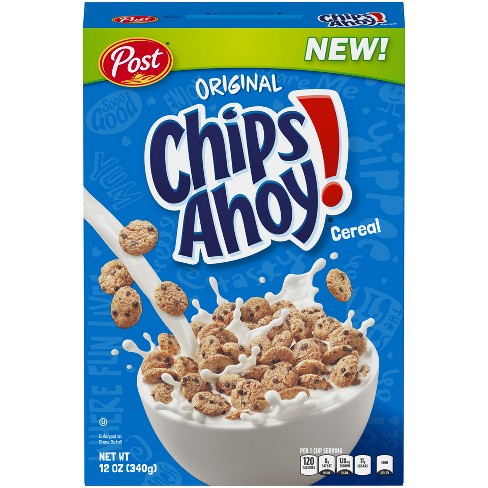 CHIPS AHOY BREAKFAST CEREAL 340G
