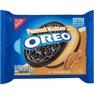 OREO PEANUT BUTTER SANDWICH COOKIE 432G
