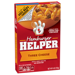 HAMBURGER HELPER THREE CHEESE 170G