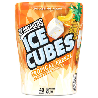 ICE BREAKERS ICE CUBES TROPICAL FREEZE GUM