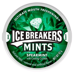 ICE BREAKERS MINTS SPEARMINT 42G