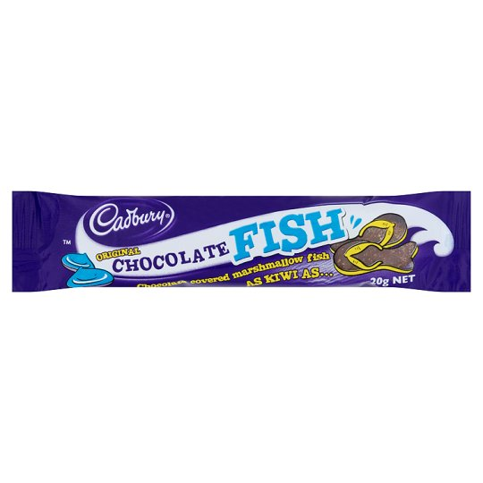 CADBURY CHOCOLATE FISH BAR 20G