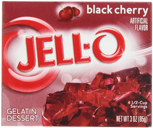 JELL-O BLACK CHERRY 85G