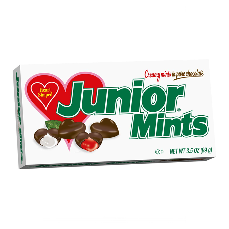 JUNIOR MINTS VALENTINE HEARTS THEATRE BOX