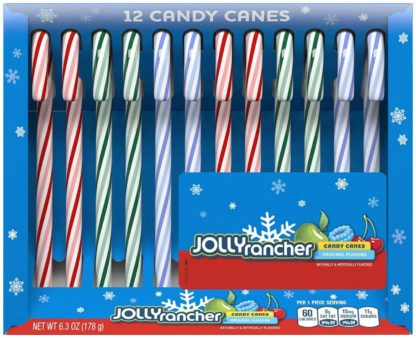 JOLLY RANCHER CANDY CANES 150G