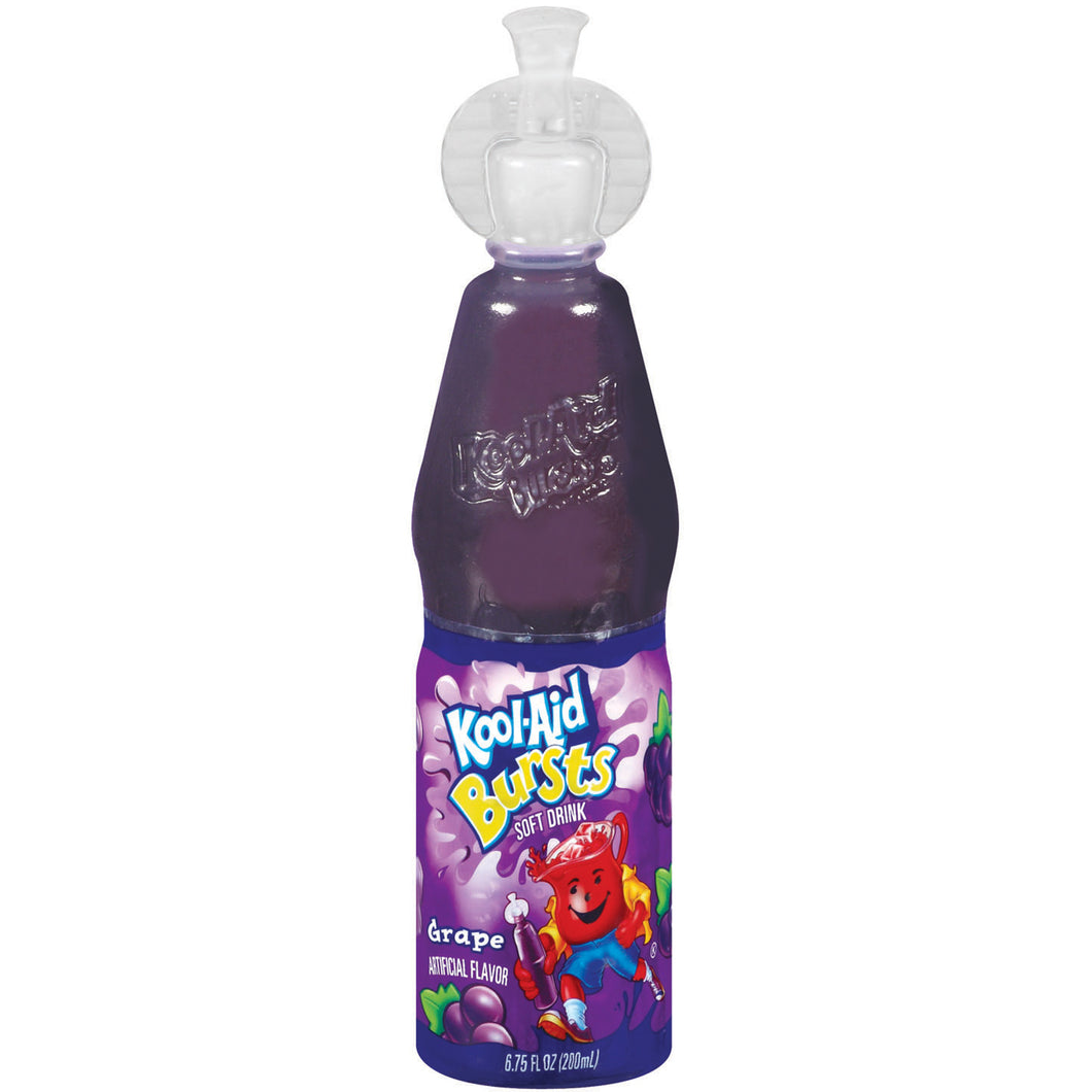 KOOL AID BURSTS GRAPE 200ML PK OF 6