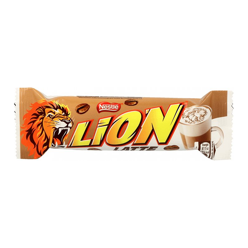 LION LATTE BAR 40G