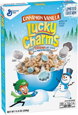 LUCKY CHARMS CINNAMON VANILLA CEREAL 289G