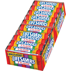 LIFESAVERS 5 FLAVOURS BOX OF 20