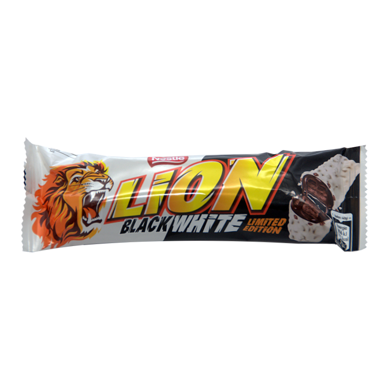 LION BAR BLACK & WHITE 40G