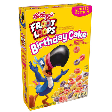 KELLOGG'S STRAWBERRY BIRTHDAY CAKE FROOT LOOPS