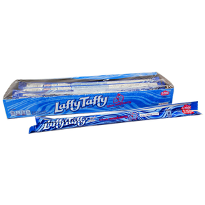 LAFFY TAFFY ROPE BLUE RASPBERRY 22G - BOX OF 24