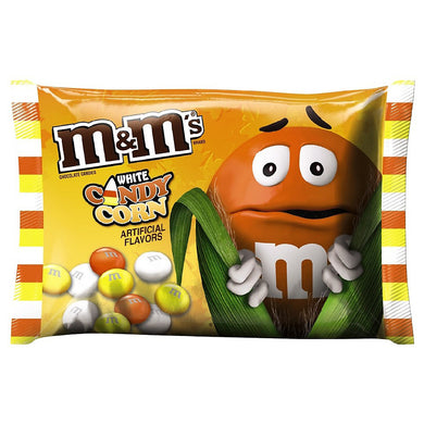 M&M'S WHITE CHOCOLATE HALLOWEEN CANDY CORN BAG 42.5G