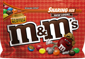 M&M PEANUT BUTTER LARGE 272G