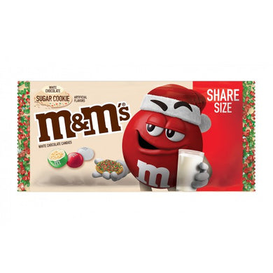 M&M'S WHITE SUGAR COOKIE SHARE SIZE 92G