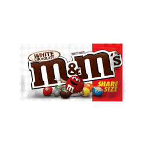 M&M'S WHITE CHOCOLATE SHARE SIZE 70G