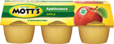 MOTT'S APPLE SAUCE 6 PACK