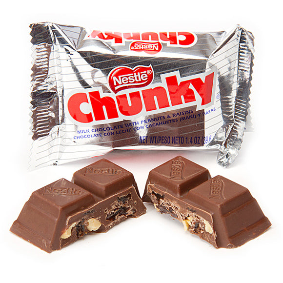 NESTLE CHUNKY PEANUT & RAISIN BAR