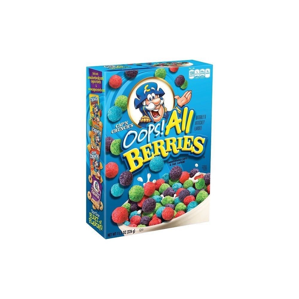 CAPTAIN CRUNCH OOP'S ALL BERRIES CEREAL