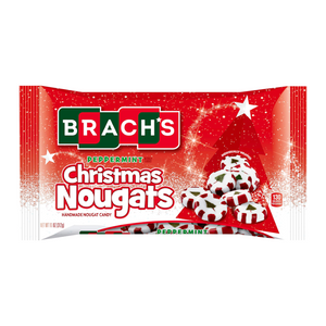 BRACH'S XMAS PEPPERMINT NOUGAT 312G **REDUCED**