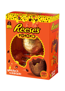 REESE'S PIECES LARGE EASTER EGG 344G