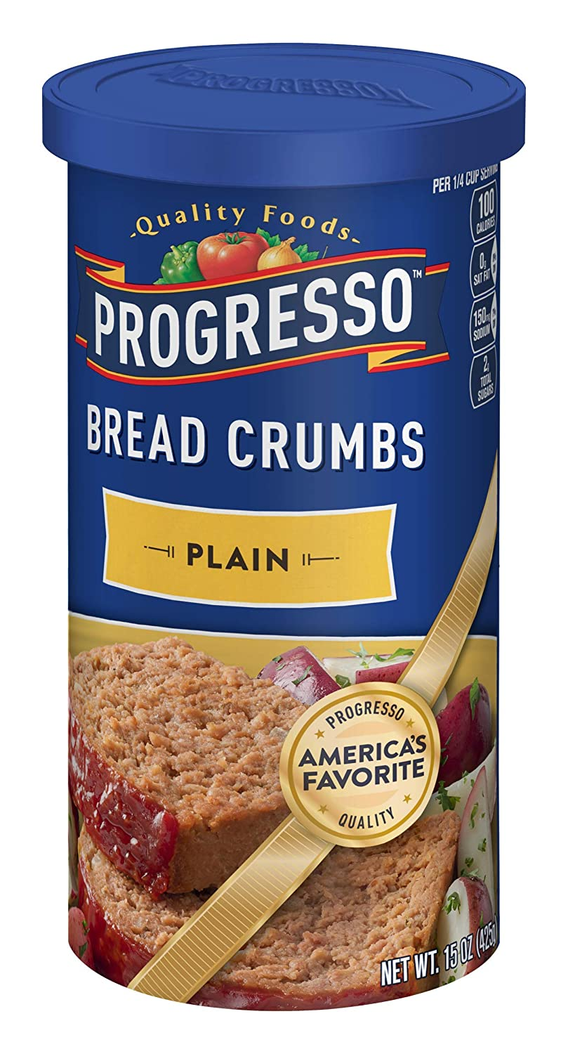 PROGRESSO PLAIN BREAD CRUMBS