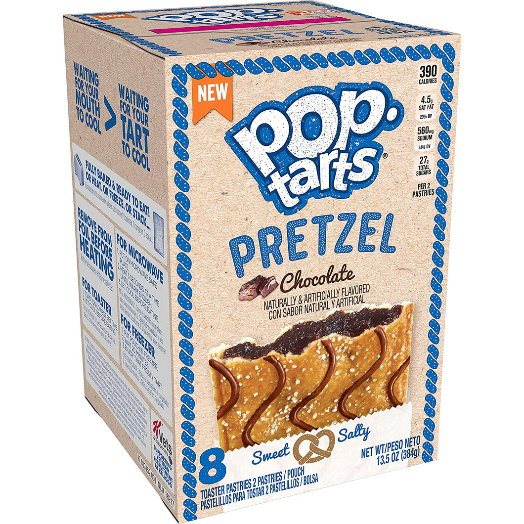 POP TARTS PRETZEL CHOCOLATE (BOX OF 4 X 2 PACK)