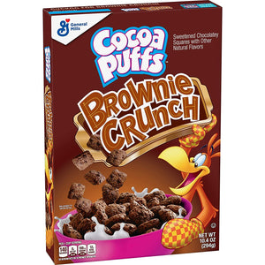 COCOA PUFFS BROWNIE CRUNCH CEREAL 295G