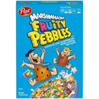 FRUITY PEBBLES WITH MARSHMALLOWS 311G