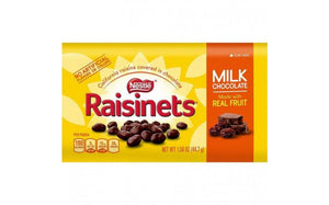 NESTLE RAISINETS CHOCOLATE COVERED RAISINS 44.7G