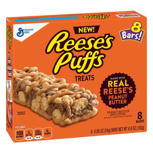 REESE'S PUFF TREAT BAR 192G