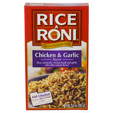 RICE-A-RONI GARLIC CHICKEN 195G