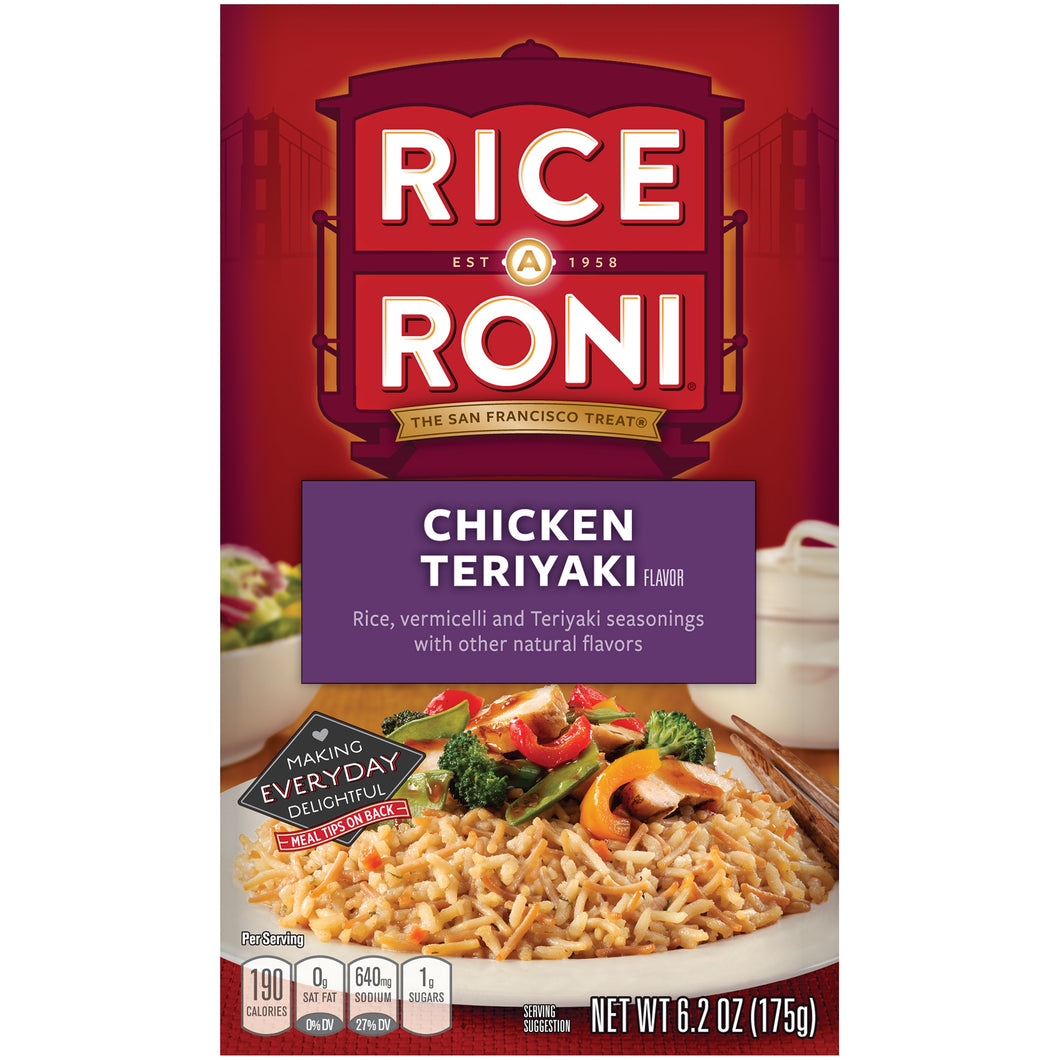 RICE-A-RONI CHICKEN TERIYAKI 195G