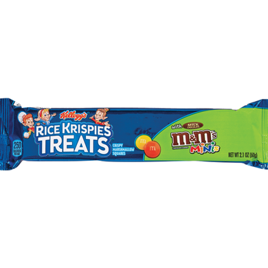 RICE KRISPIES M&M LARGE BREAKFAST SNACK BARS - 3 BARS