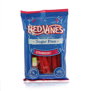 SUGAR FREE STRAWBERRY RED VINES 141G