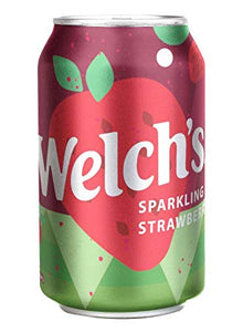 WELCH'S STRAWBERRY SODA - SINGLE & 12 PACK