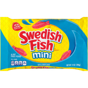 SWEDISH FISH RED BAG 14OZ (396G)