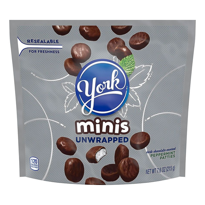 YORK PEPPERMINT PATTIES UNWRAPPED 215G