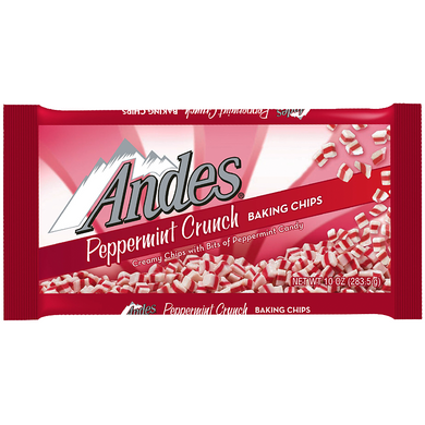 ANDES PEPPERMINT CRUNCH BAKING CHIPS 283G