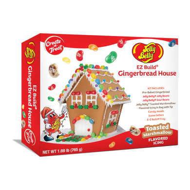 JELLY BELLY GINGERBREAD XMAS COTTAGE KIT 765G