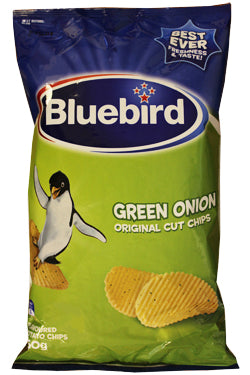 BLUEBIRD GREEN ONION CHIPS 150G