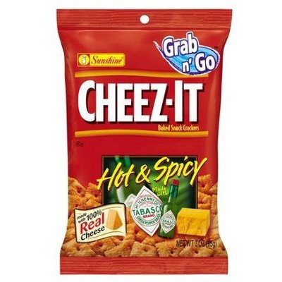 CHEEZ-IT HOT & SPICY TABASCO 85G