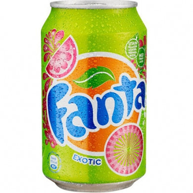 FANTA EXOTIC SODA 330ML - SINGLE CAN