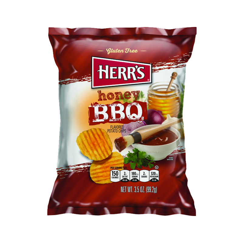 HERR'S HONEY BBQ CRISPS 99.2G