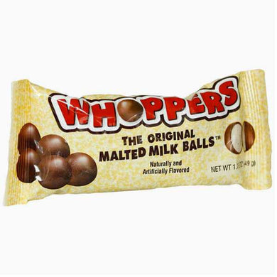 HERSHEY'S WHOPPERS MALTED BALLS 49G