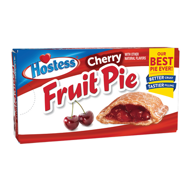 HOSTESS CHERRY FRUIT PIE 120G