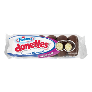 HOSTESS CHOCOLATE FROSTED DONETTES - 6 PACK - 85G