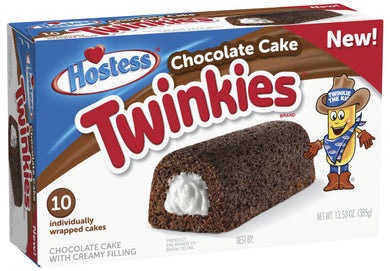 HOSTESS TWINKIES CHOCOLATE 384G