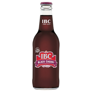 IBC BLACK CHERRY SODA BOTTLE 355ML